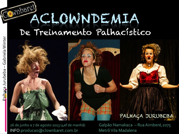 flyer Aclowndemia 2013